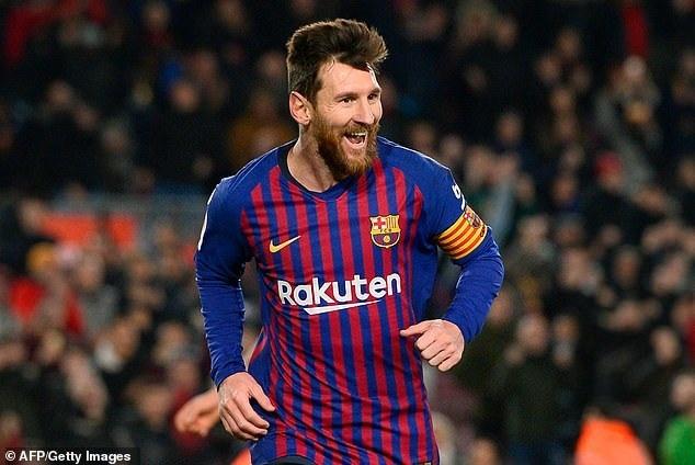 Messi nhận lương cao gần gấp đôi C.Ronaldo