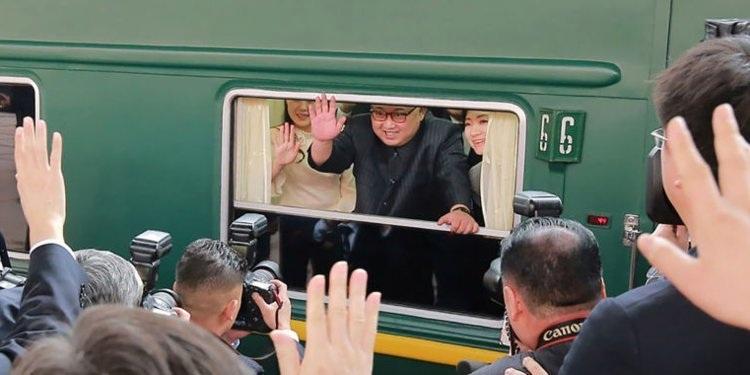 Đoàn tàu đặc biệt có thể đưa ông Kim Jong-un tới Việt Nam họp thượng đỉnh