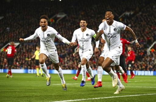 Man Utd 0-2 PSG:  Pogba bị đuổi, Solskjaer nếm mùi thất bại