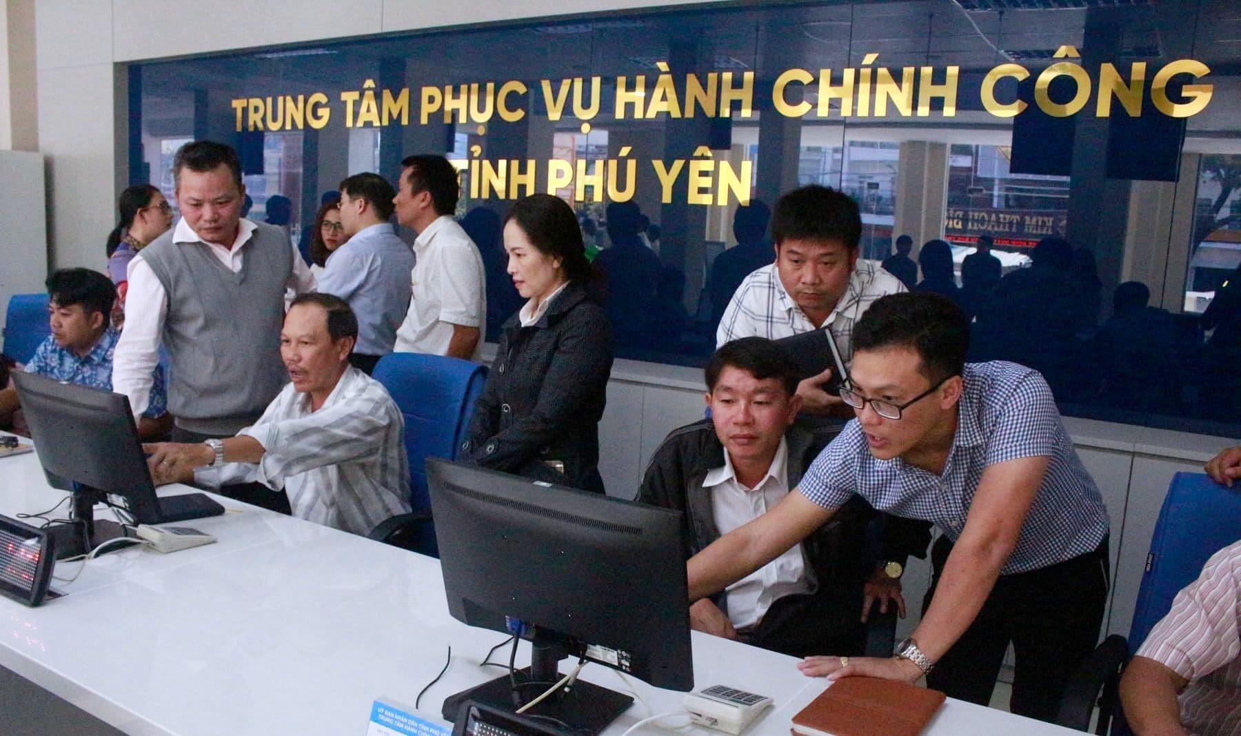 Phú Yên: Đưa Trung tâm Phục vụ hành chính công vào hoạt động
