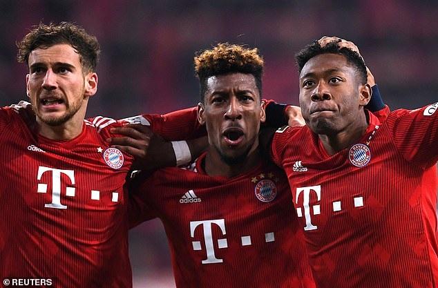 Bayern Munich chật vật chiến thắng trước cuộc chiến với Liverpool