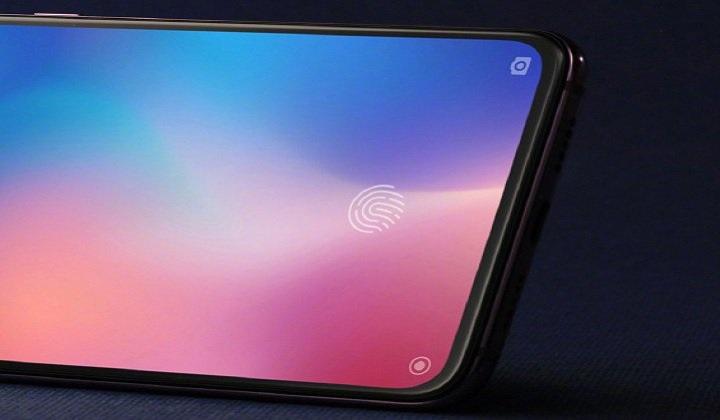 Xiaomi Mi 9 lộ diện siêu đẹp và cảm biến vân tay trong màn hình