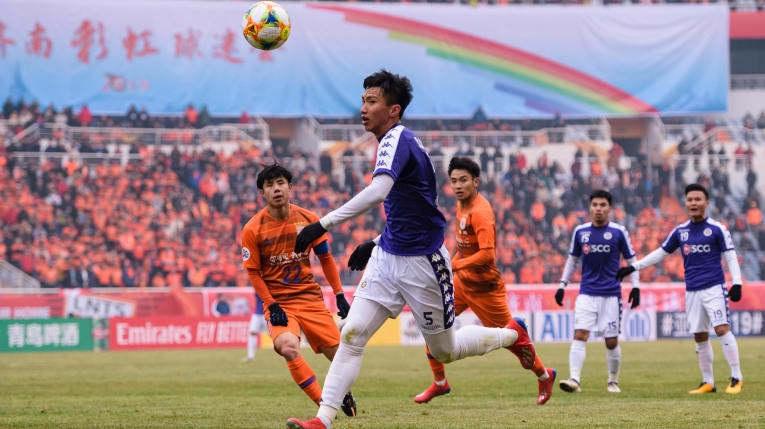 """Báo Trung Quốc: """"Hà Nội FC hơn hẳn Shandong Luneng về kỹ thuật"""""""
