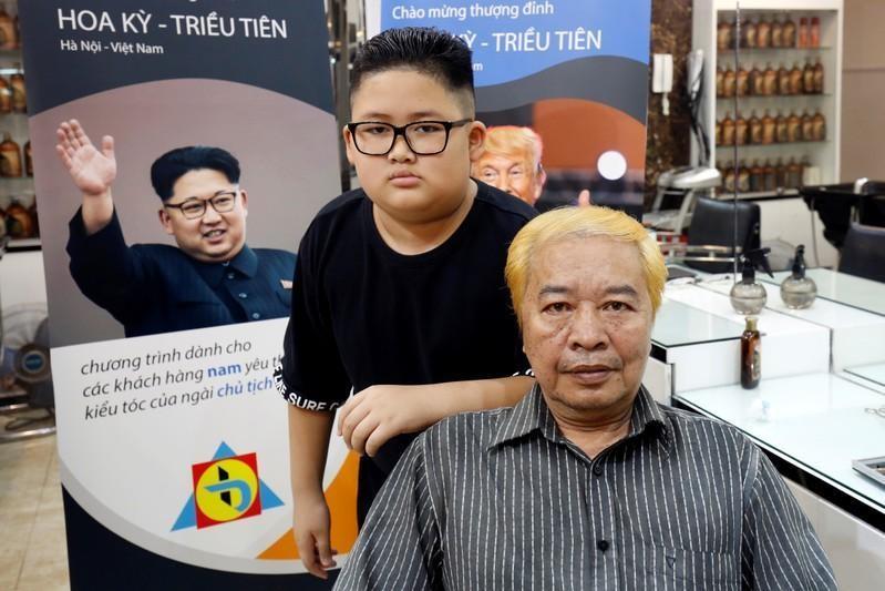 Người Hà Nội hào hứng với kiểu tóc giống của ông Trump và ông Kim Jong-un