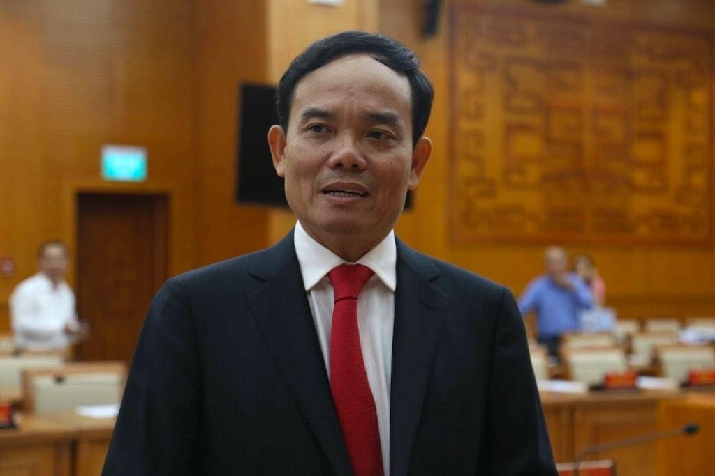 Ông Trần Lưu Quang giữ chức Phó Bí thư Thành ủy TPHCM thay ông Tất Thành Cang