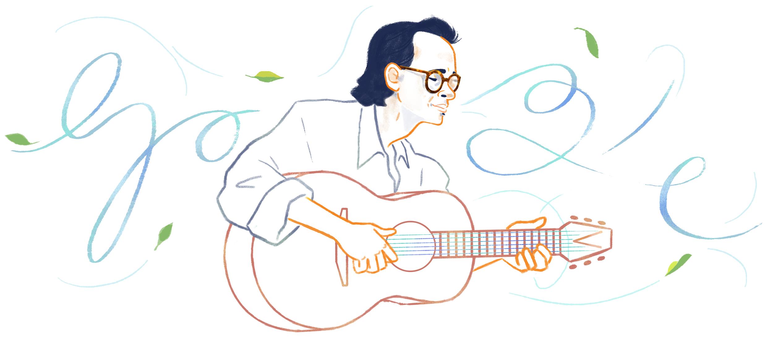Nhạc sĩ Trịnh Công Sơn, nghệ sĩ Việt Nam đầu tiên được tôn vinh trên trang chủ Google