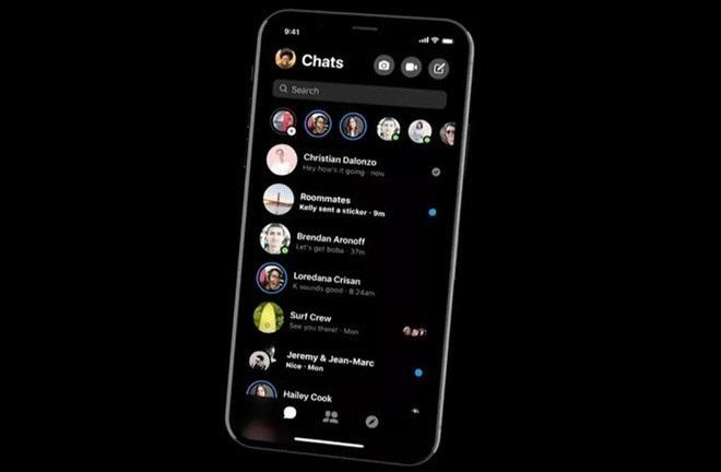 """Hướng dẫn kích hoạt """"giao diện bóng đêm"""" trên ứng dụng chat Messenger"""
