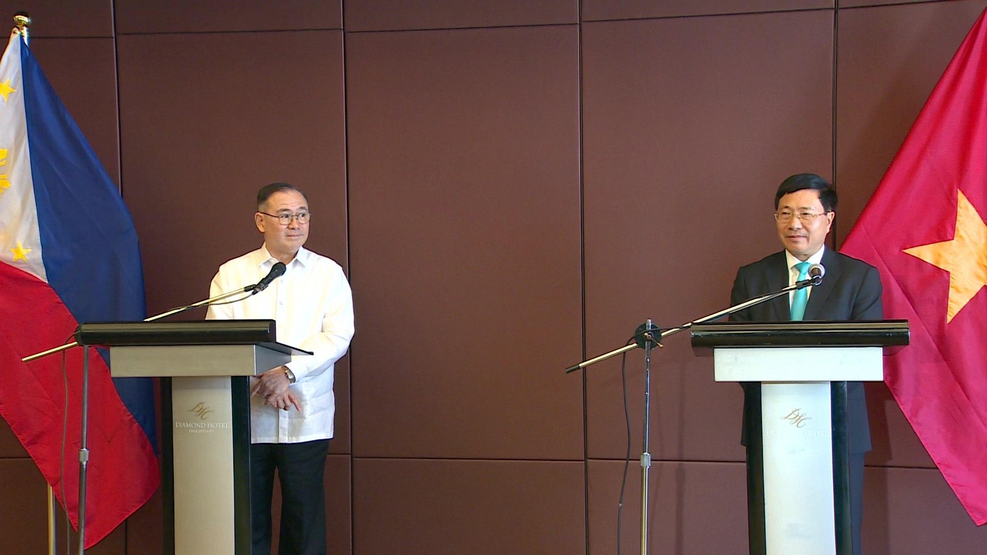 Việt Nam - Philippines bày tỏ quan ngại về tình hình Biển Đông