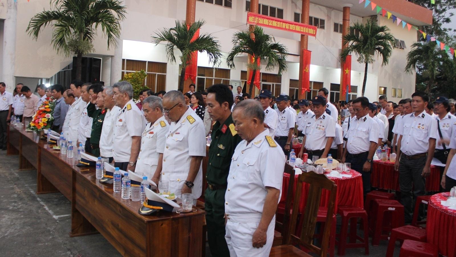 Hơn 500 cựu chiến binh Trường Sa tưởng nhớ 64 liệt sĩ Gạc Ma