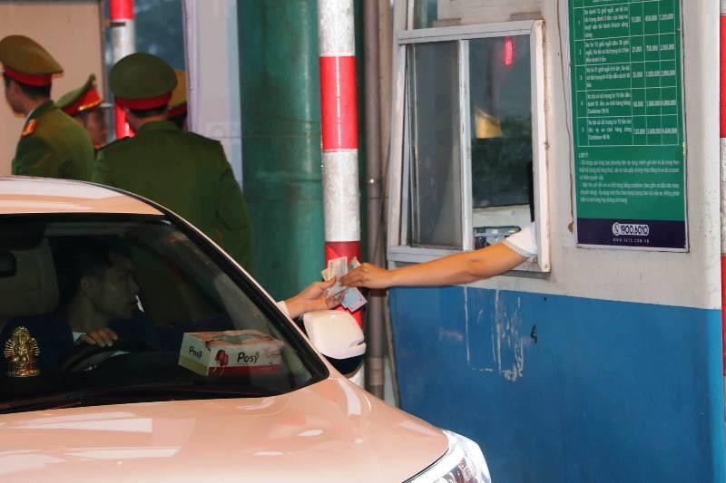 Trạm BOT Mỹ Lộc chính thức thu phí trở lại