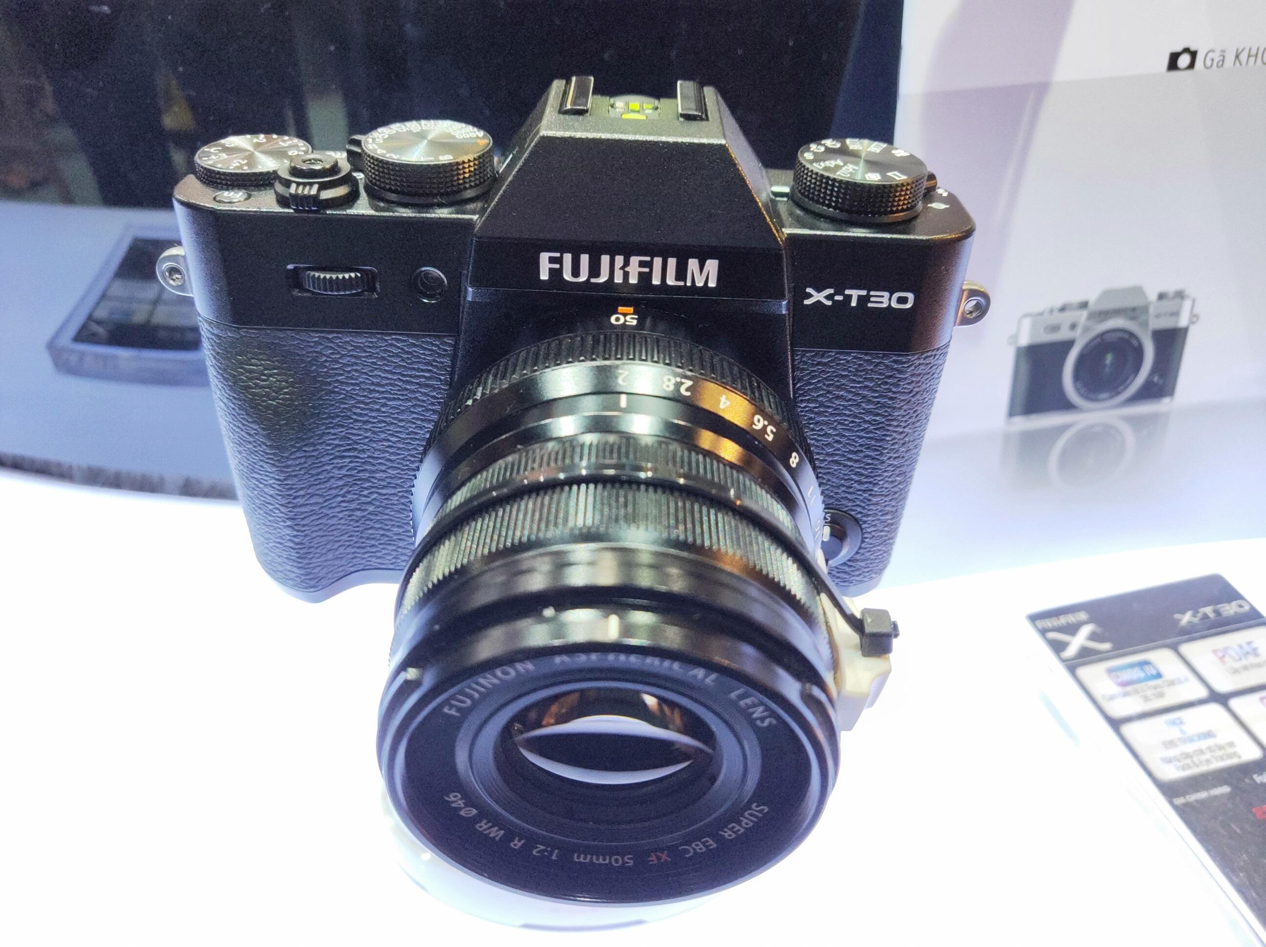 Fujifilm giới thiệu X-T30, cảm biến 26.1MP, quay phim 4K, giá 21,9 triệu đồng