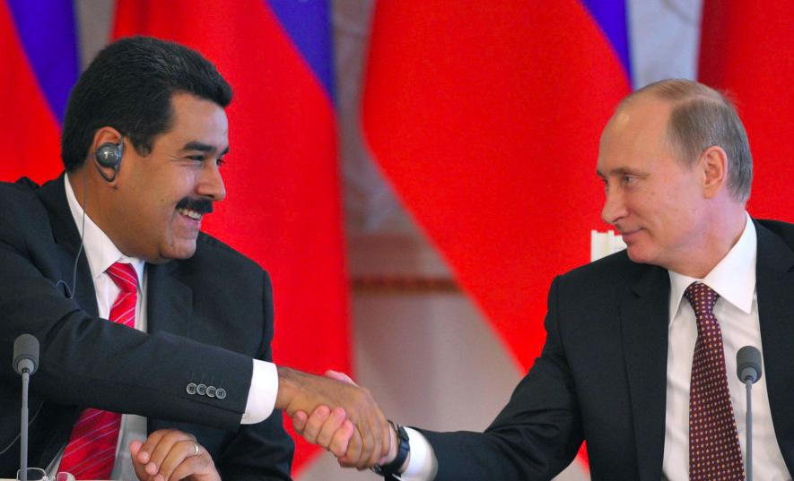 """""""Cấm cửa"""" hàng viện trợ Mỹ, Venezuela nhận hàng tấn thuốc của Nga"""