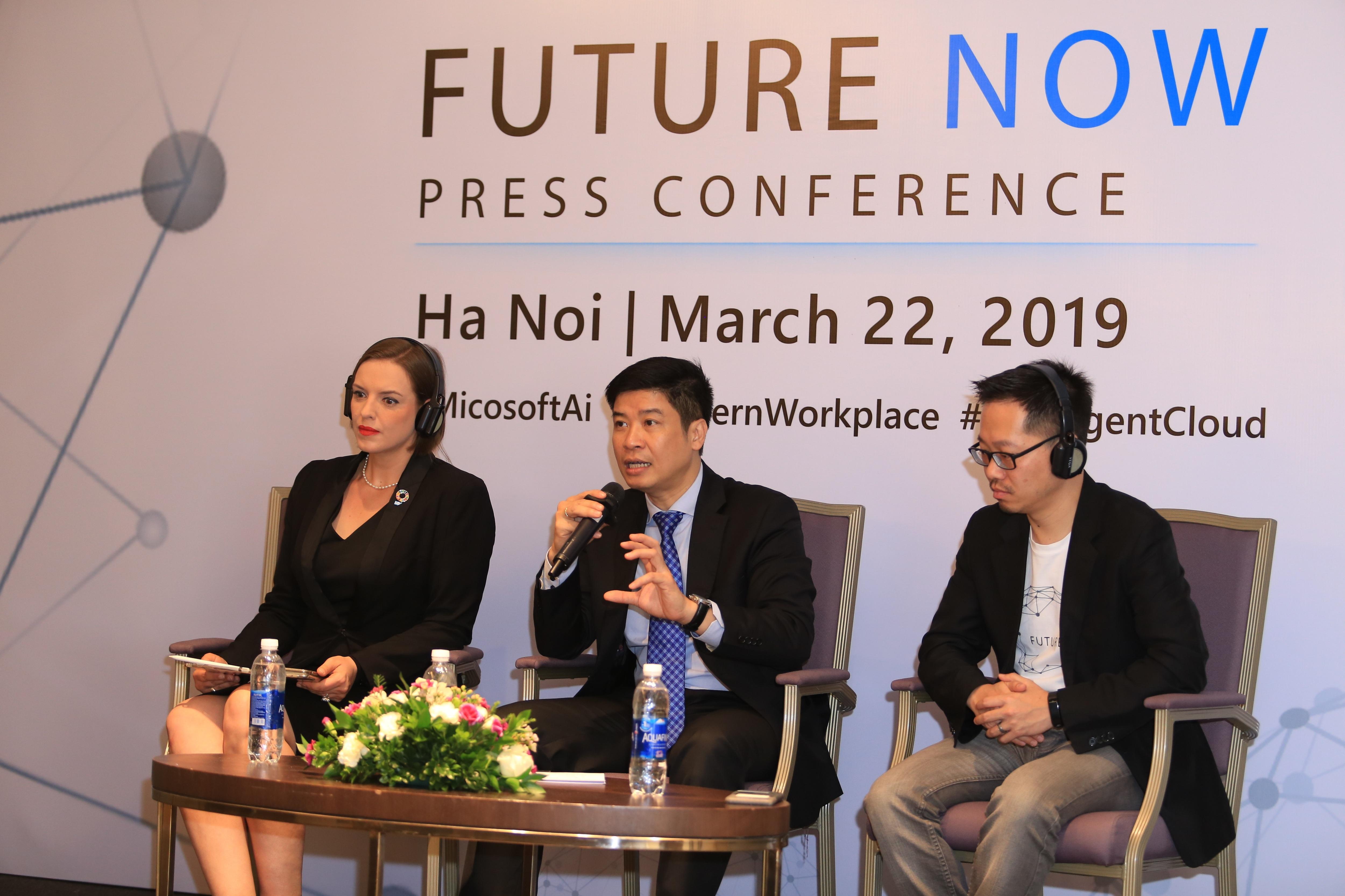 CEO Microsoft Việt Nam: Trí tuệ nhân tạo là lợi thế cạnh tranh cho DN