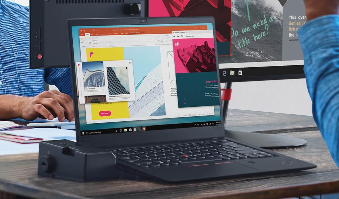"""ThinkPad X1 Family – Bộ tứ """"soái ca"""" cho văn phòng hiện đại"""