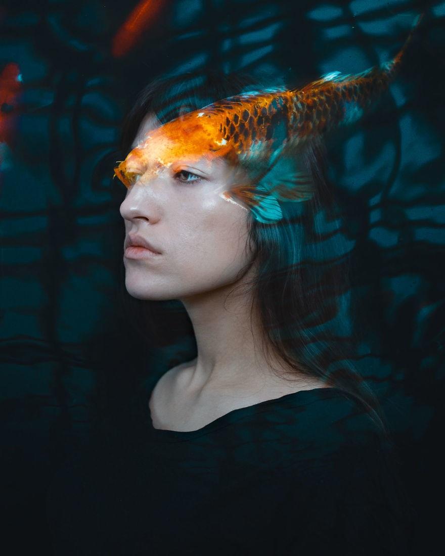 Ngây ngất với loạt ảnh chân dung phơi sáng kép độc đáo - 11