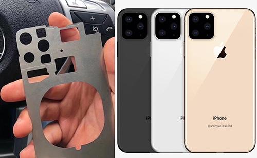 iPhone 11 bị rò rỉ từ nhà máy Foxconn với thiết kế kém ấn tượng - 1