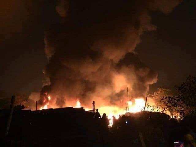 Cháy 8 người chết ở Hà Nội