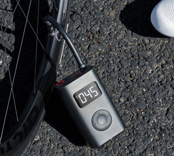 Thiết bị bơm thông minh bỏ túi, có thể bơm xe đạp, ô tô, bóng đá - 1
