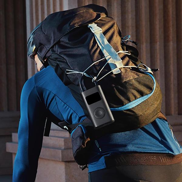 Thiết bị bơm thông minh bỏ túi, có thể bơm xe đạp, ô tô, bóng đá - 2