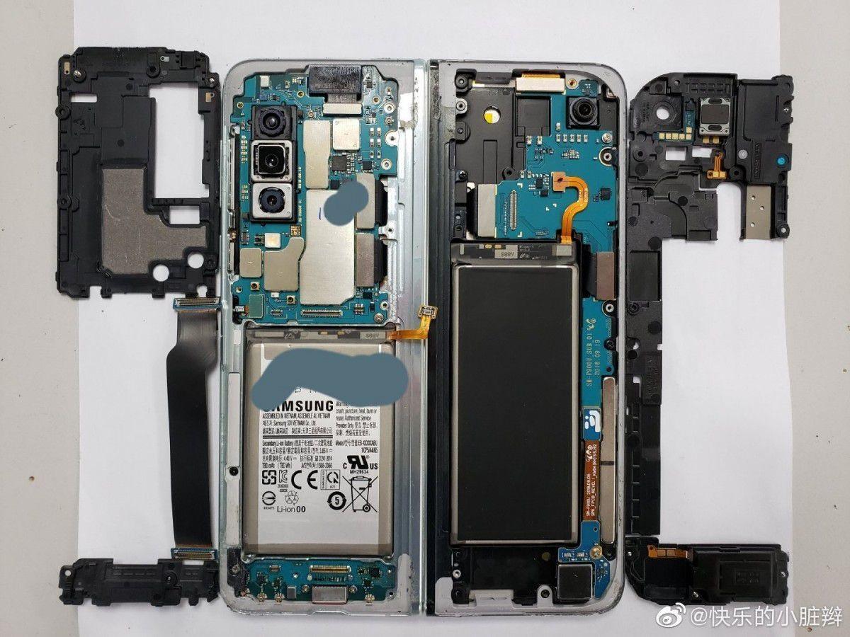 Bên trong siêu phẩm điện thoại gập Galaxy Fold  - 6