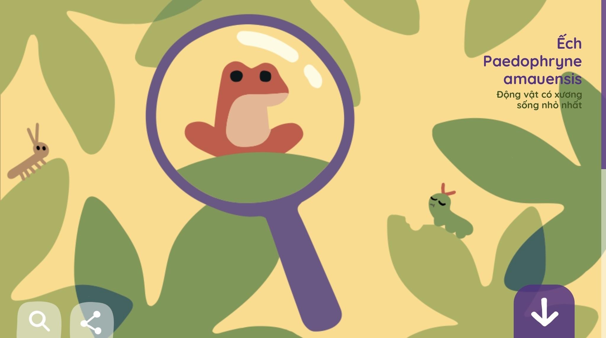 ... Google Doodle kỷ niệm Ngày Trái Đất với hình ảnh 6 sinh vật có nguy cơ ...