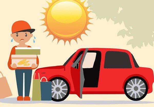 Kinh nghiệm sử dụng xe trong mùa hè