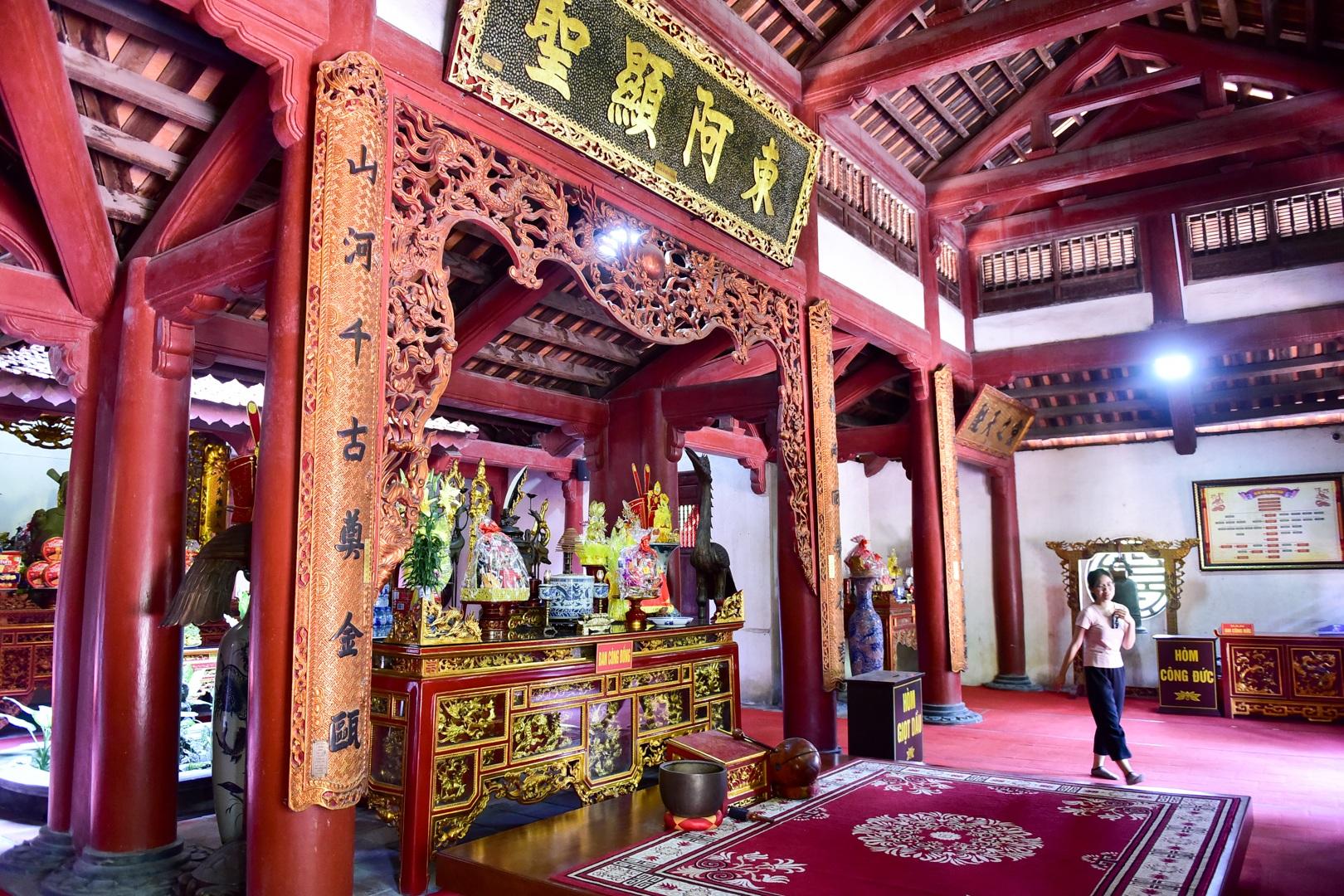 Chiêm ngưỡng ngôi đền 600 năm tuổi thờ 8 vị vua triều Trần - 6