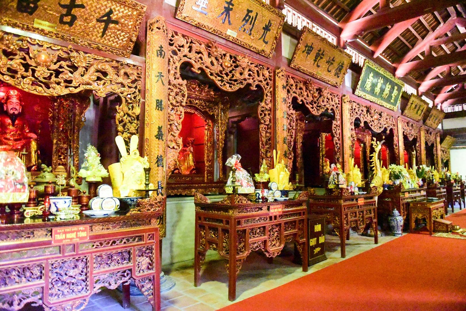 Chiêm ngưỡng ngôi đền 600 năm tuổi thờ 8 vị vua triều Trần - 8