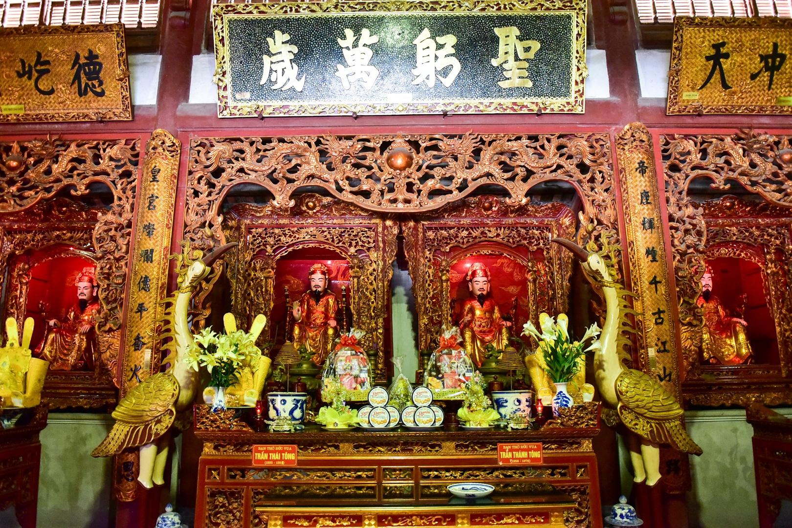 Chiêm ngưỡng ngôi đền 600 năm tuổi thờ 8 vị vua triều Trần - 9