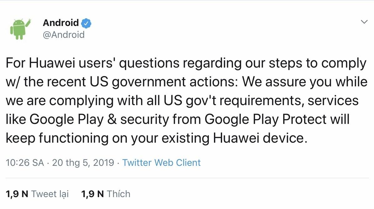 Điện thoại Huawei liệu có bị hoá thành cục gạch? - 2