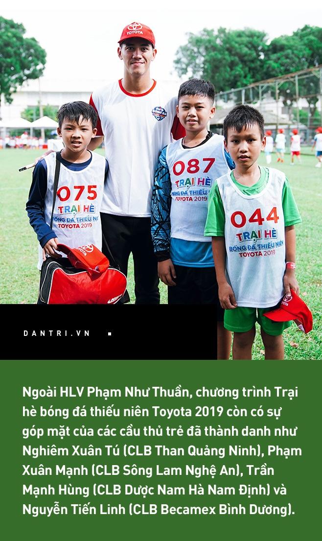Trại hè bóng đá thiếu niên Toyota 2019: Nơi ươm mầm những tài năng tương lai bóng đá Việt - 3