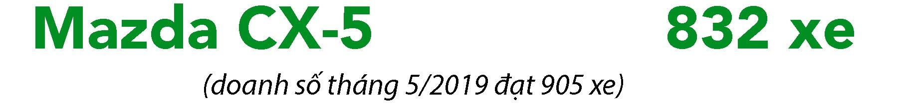 Phân khúc crossover tháng 6/2019: Xe lắp ráp trong nước bị lép vế? - 6