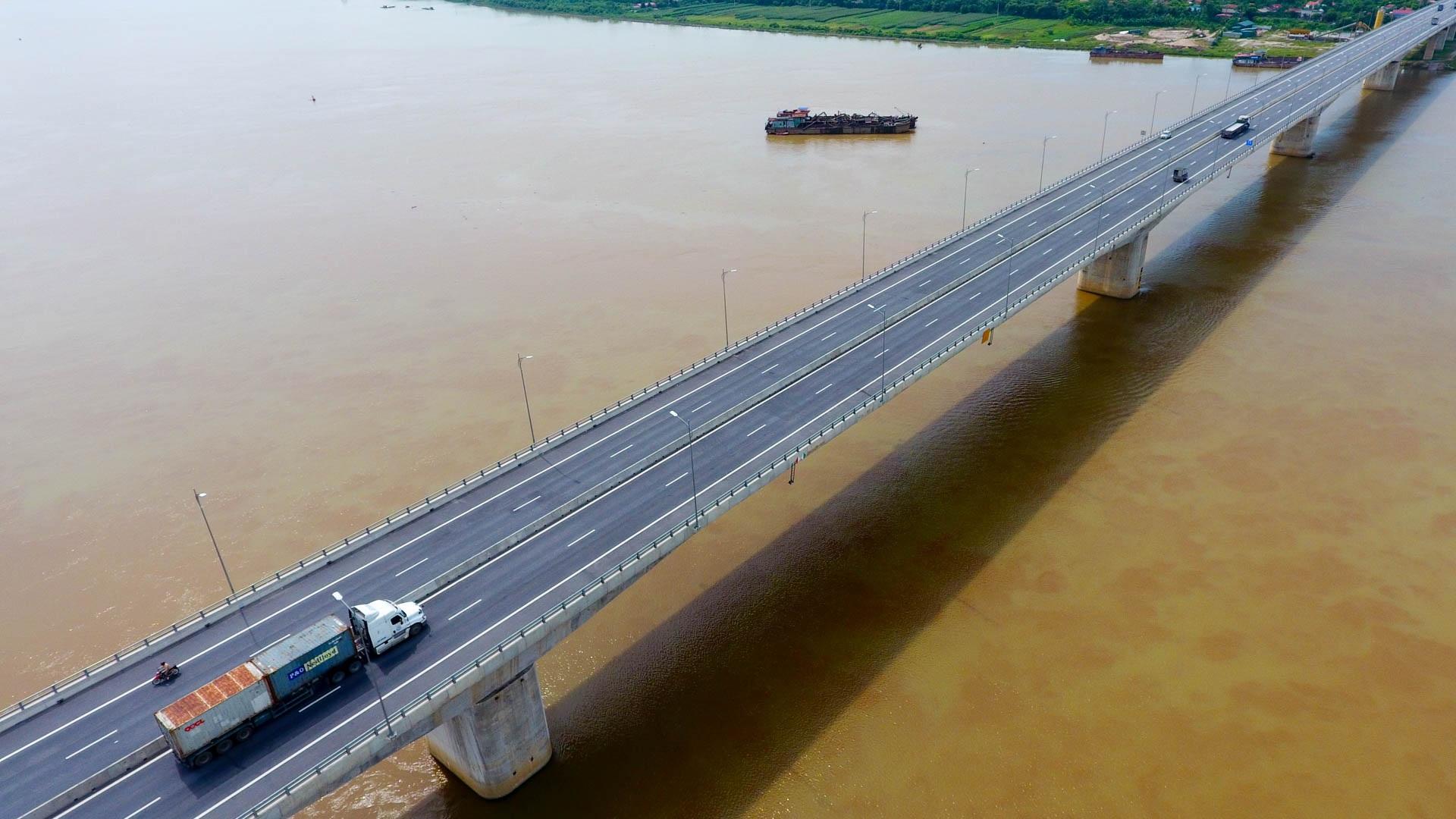 Toàn cảnh cầu 2.800 tỷ nối 2 tỉnh Hưng Yên và Hà Nam - 8