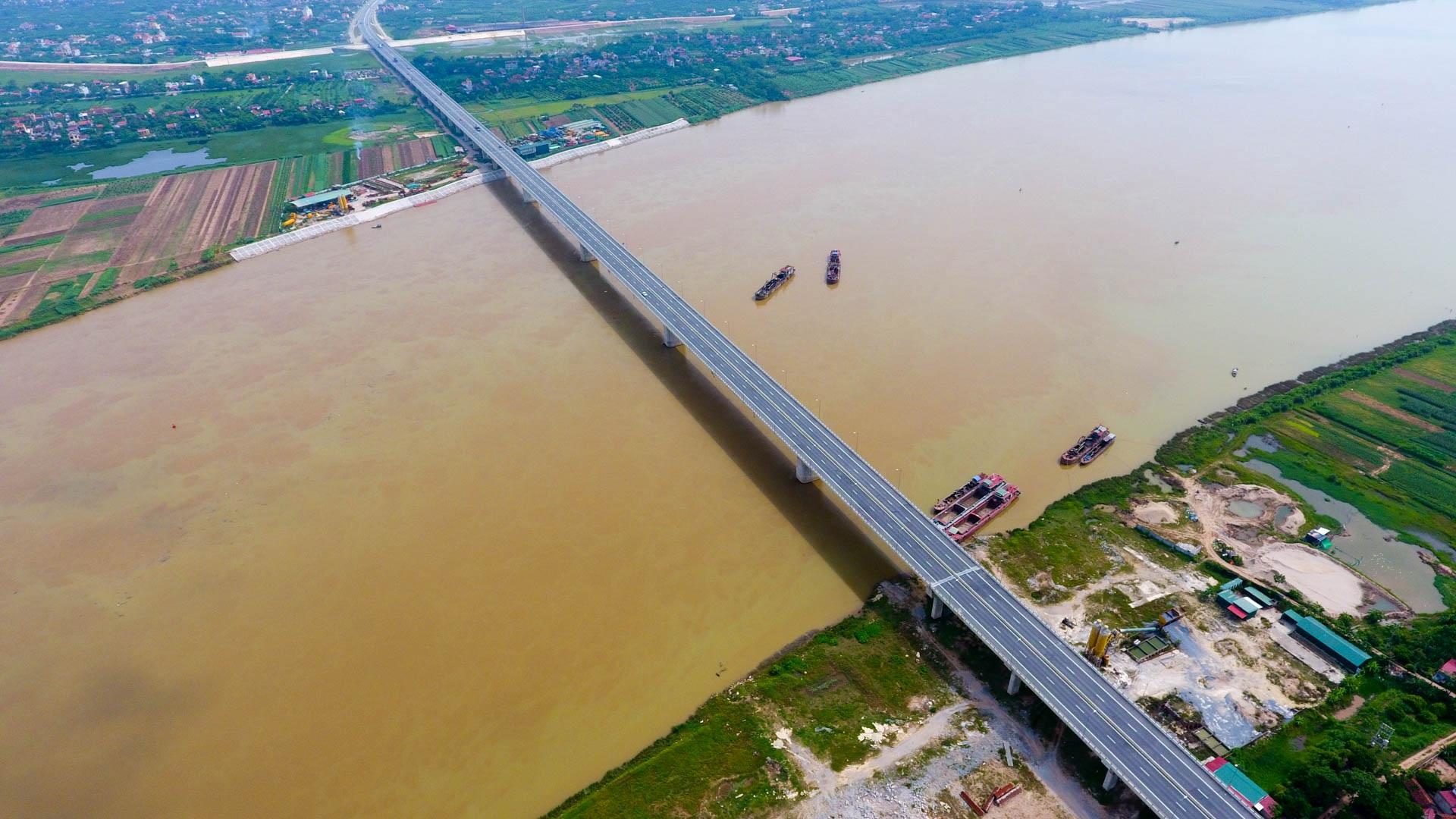 Toàn cảnh cầu 2.800 tỷ nối 2 tỉnh Hưng Yên và Hà Nam - 1