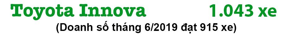 Phân khúc MPV tháng 7/2019: Mitsubishi Xpander quyết đấu Toyota Innova - 5