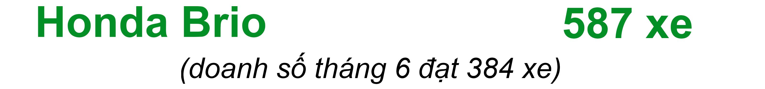 Phân khúc xe đô thị tháng 7/2019: Xáo trộn vì VinFast Fadil? - 11