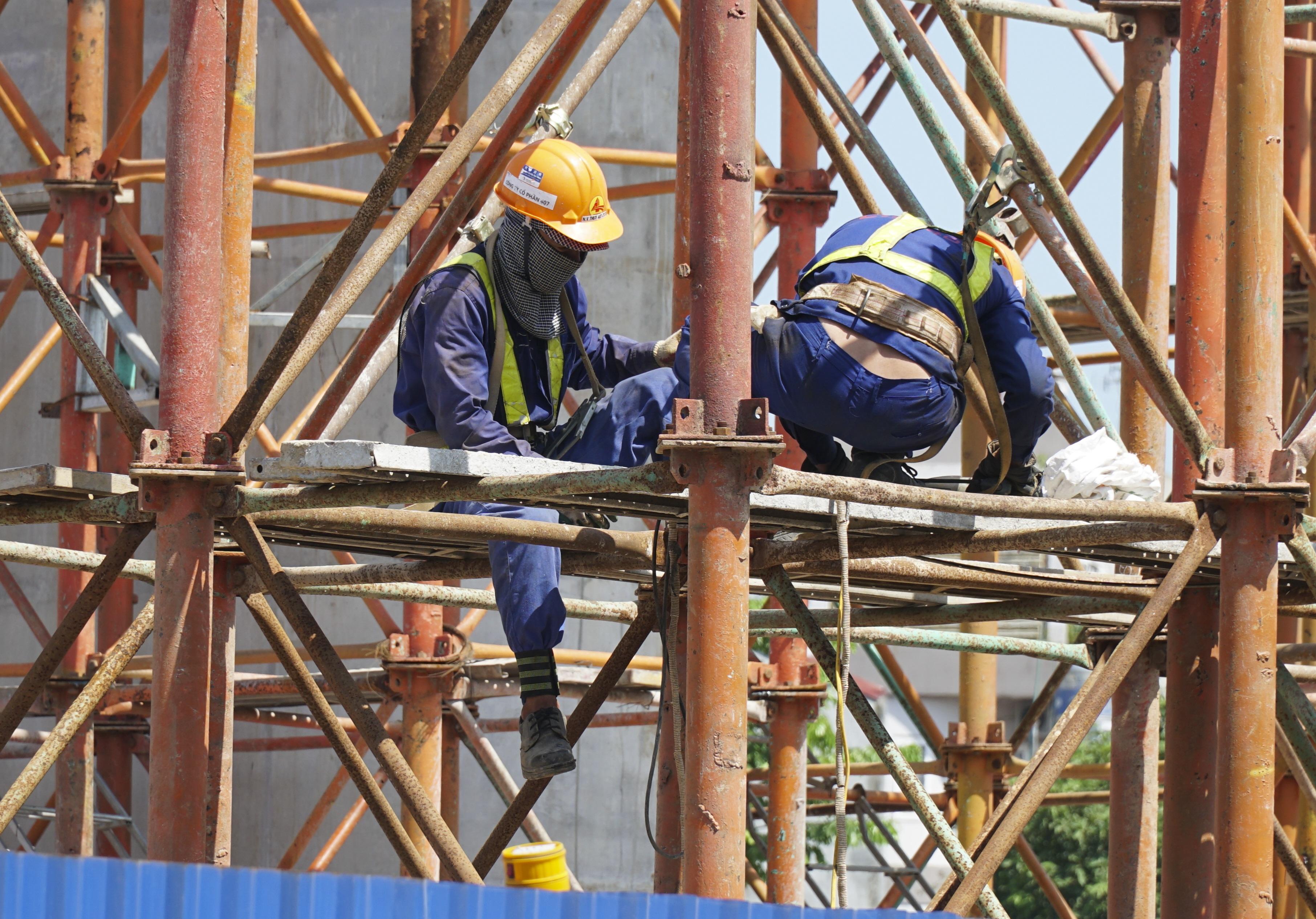 Toàn cảnh đại công trường đường 8.500 tỷ đồng ở cửa ngõ Hà Nội - 9