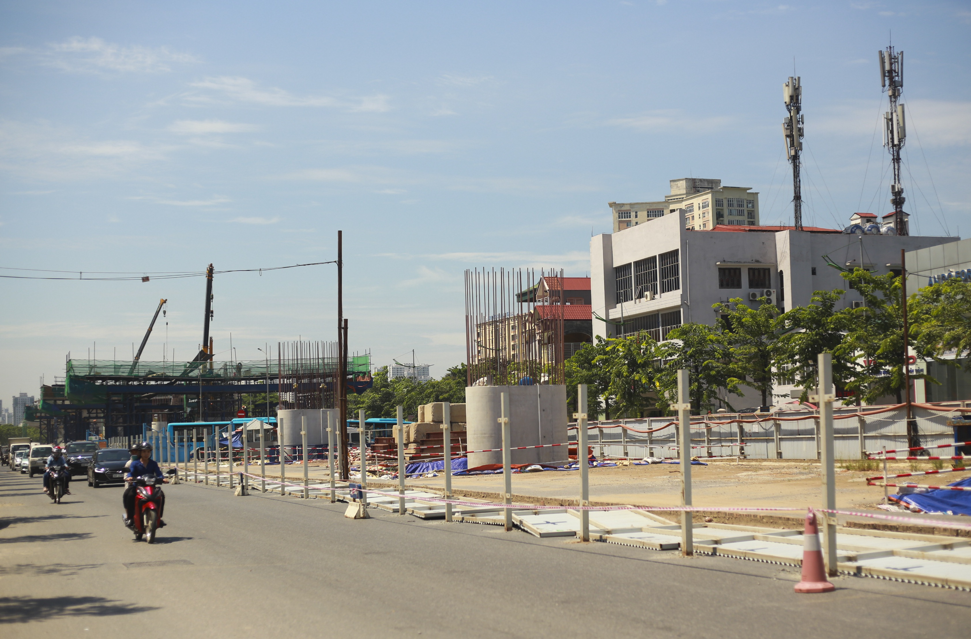 Toàn cảnh đại công trường đường 8.500 tỷ đồng ở cửa ngõ Hà Nội - 10