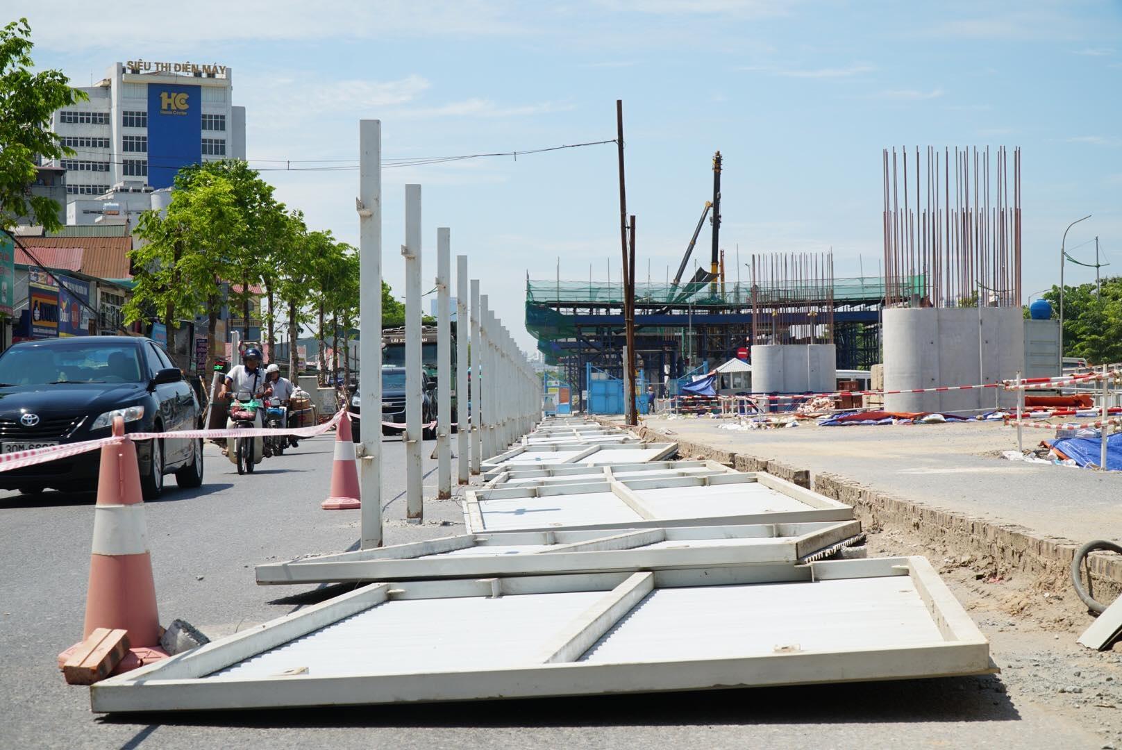 Toàn cảnh đại công trường đường 8.500 tỷ đồng ở cửa ngõ Hà Nội - 11
