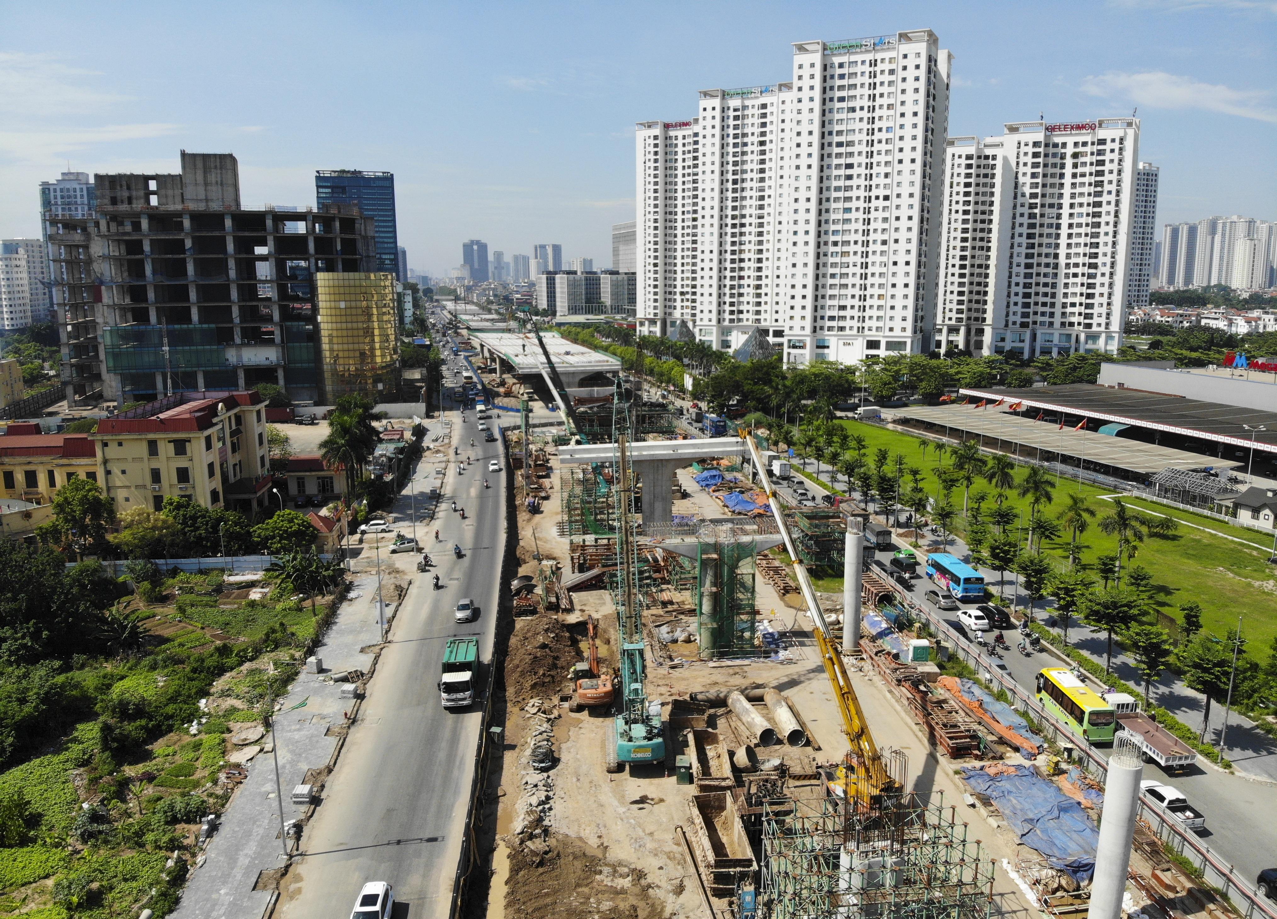 Toàn cảnh đại công trường đường 8.500 tỷ đồng ở cửa ngõ Hà Nội - 2