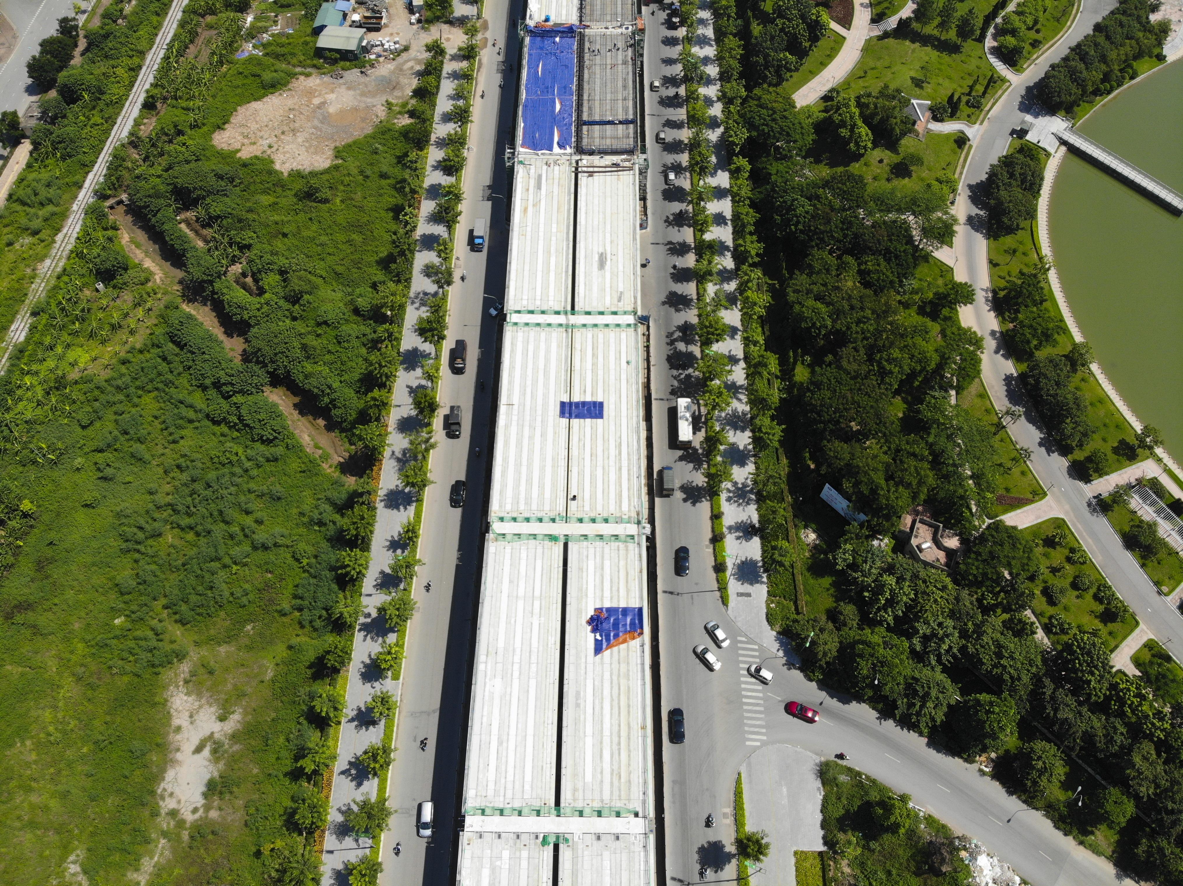 Toàn cảnh đại công trường đường 8.500 tỷ đồng ở cửa ngõ Hà Nội - 7