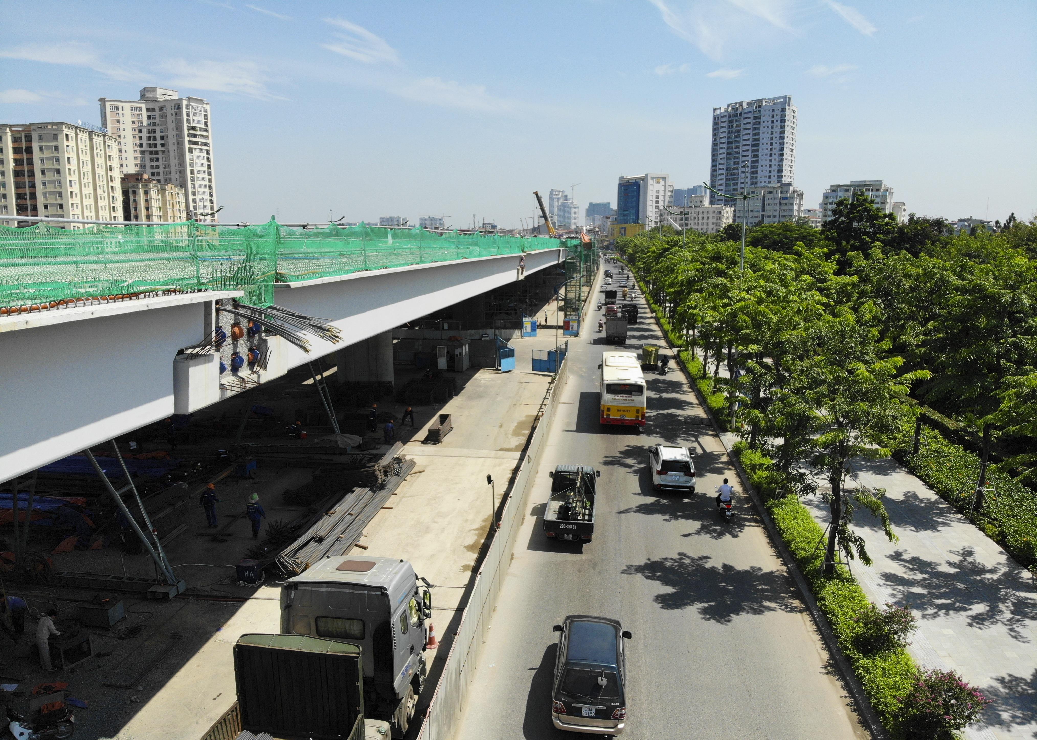 Toàn cảnh đại công trường đường 8.500 tỷ đồng ở cửa ngõ Hà Nội - 13