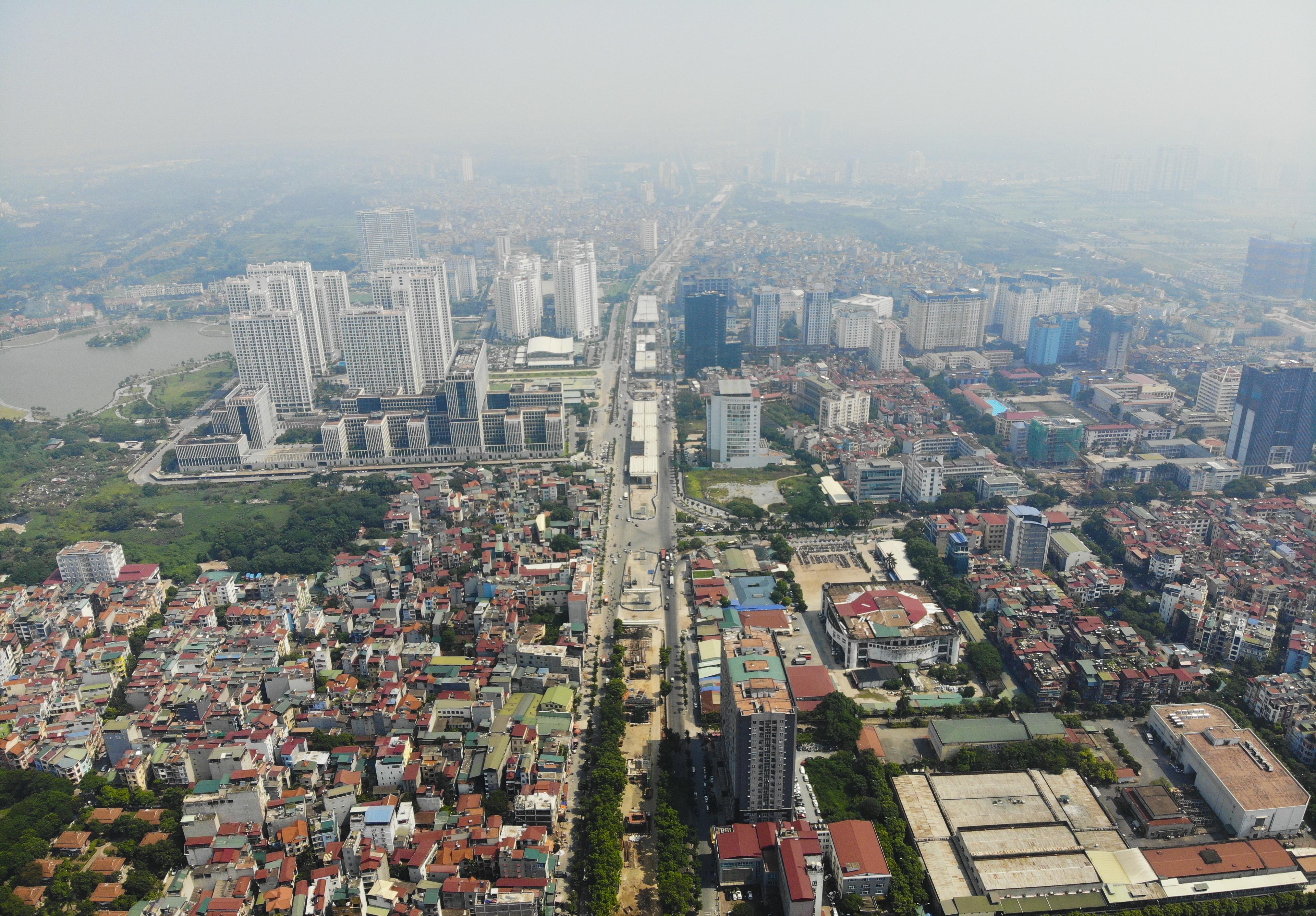 Toàn cảnh đại công trường đường 8.500 tỷ đồng ở cửa ngõ Hà Nội - 1