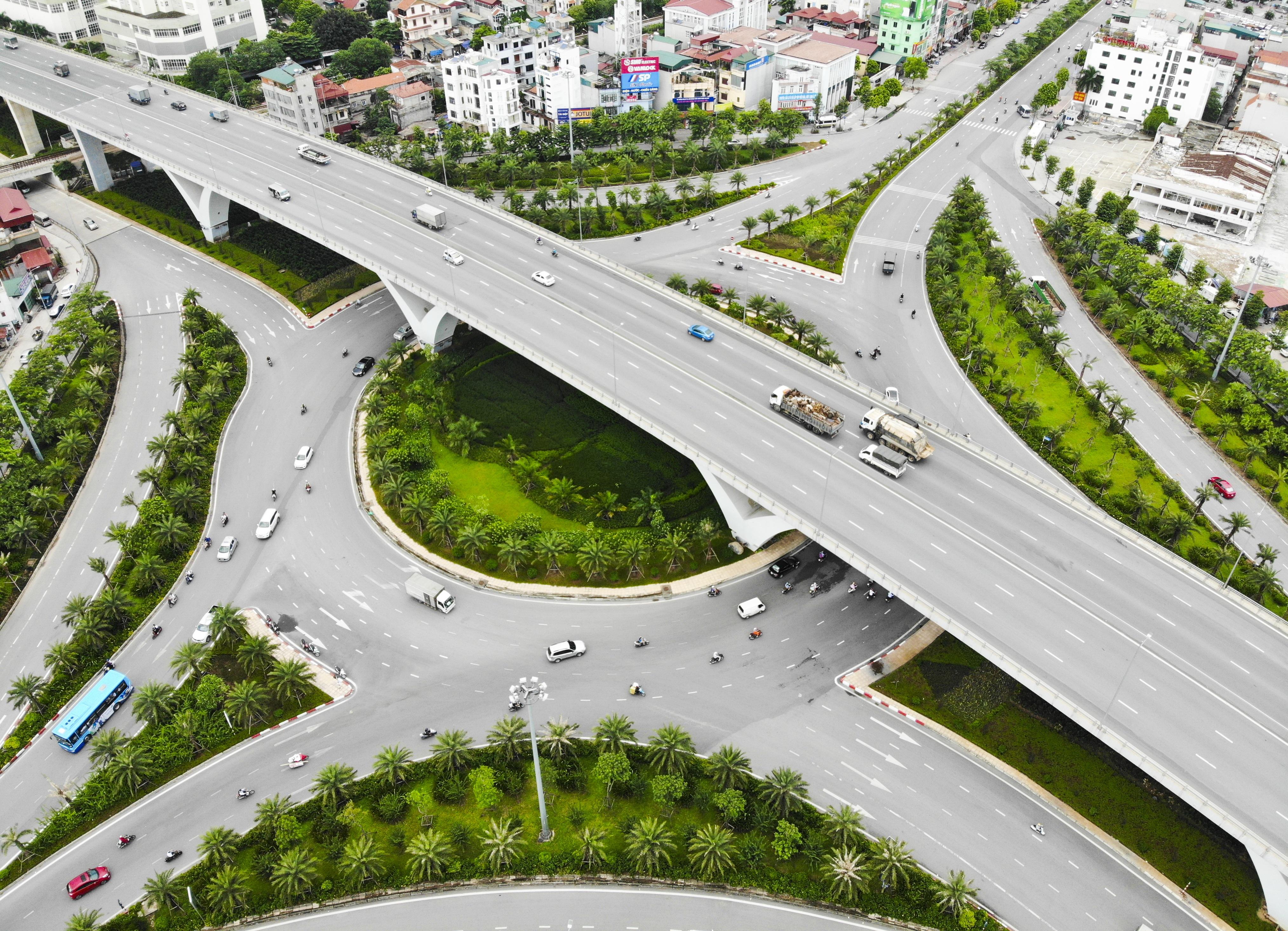 Những giao lộ khổng lồ thay đổi diện mạo cửa ngõ Thủ đô - 6