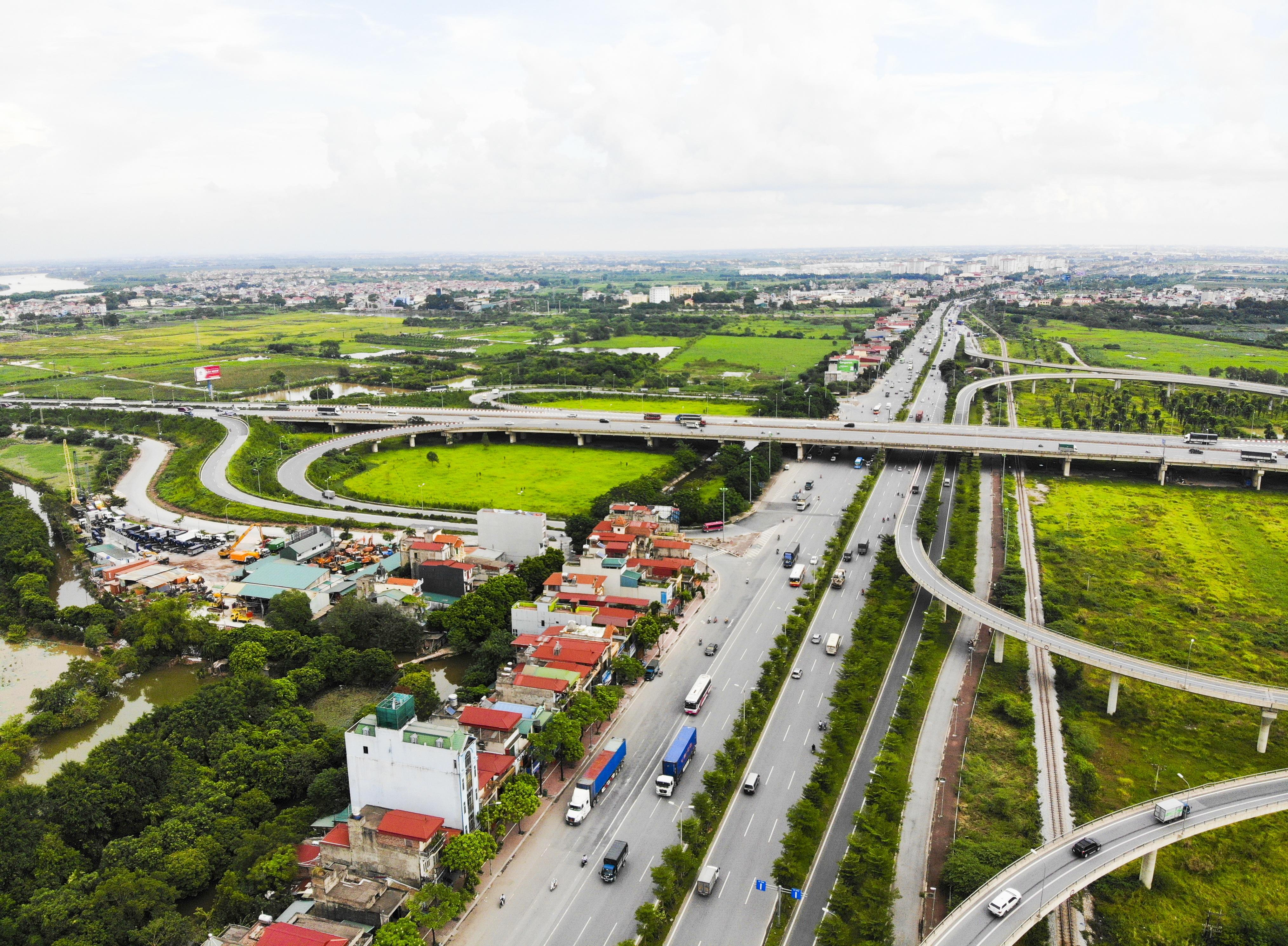 Những giao lộ khổng lồ thay đổi diện mạo cửa ngõ Thủ đô - 9