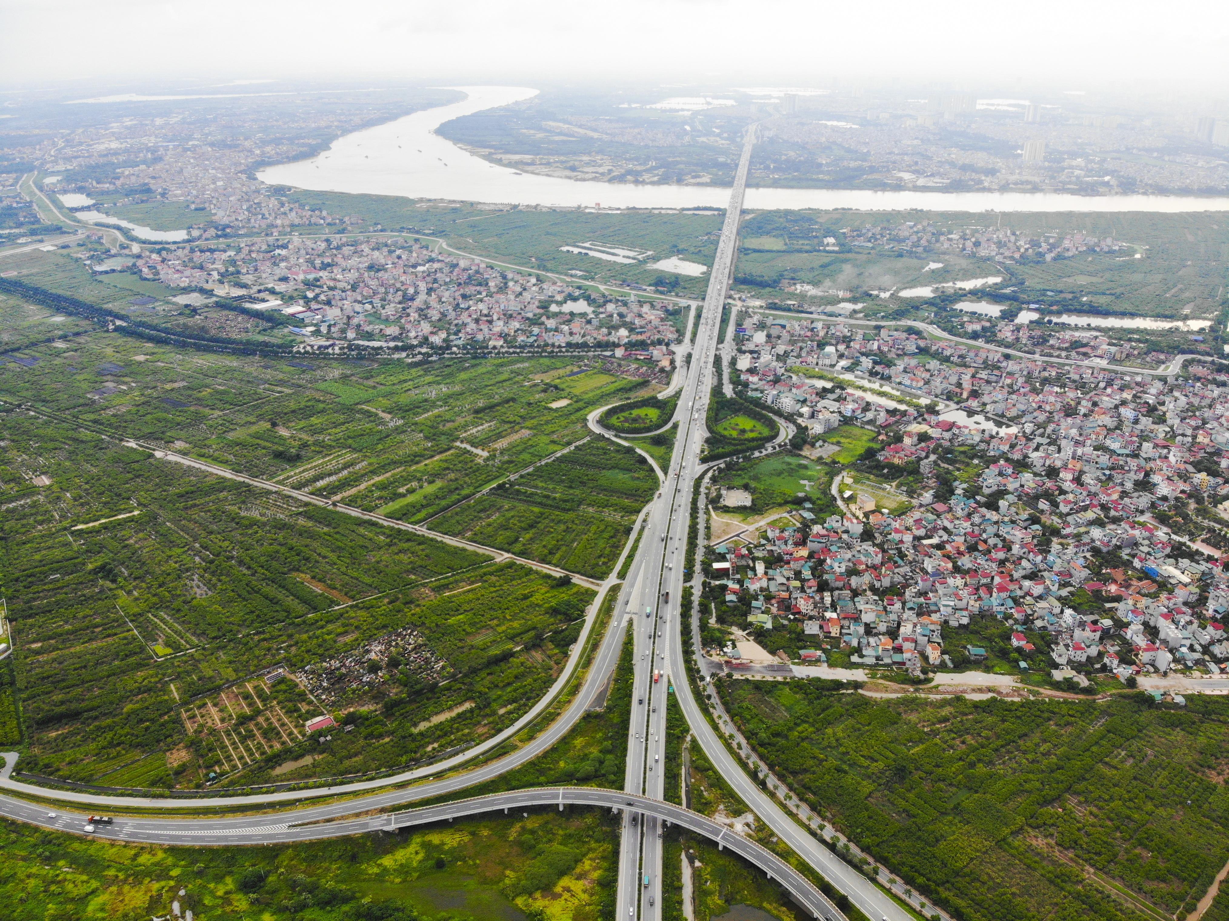 Những giao lộ khổng lồ thay đổi diện mạo cửa ngõ Thủ đô - 10