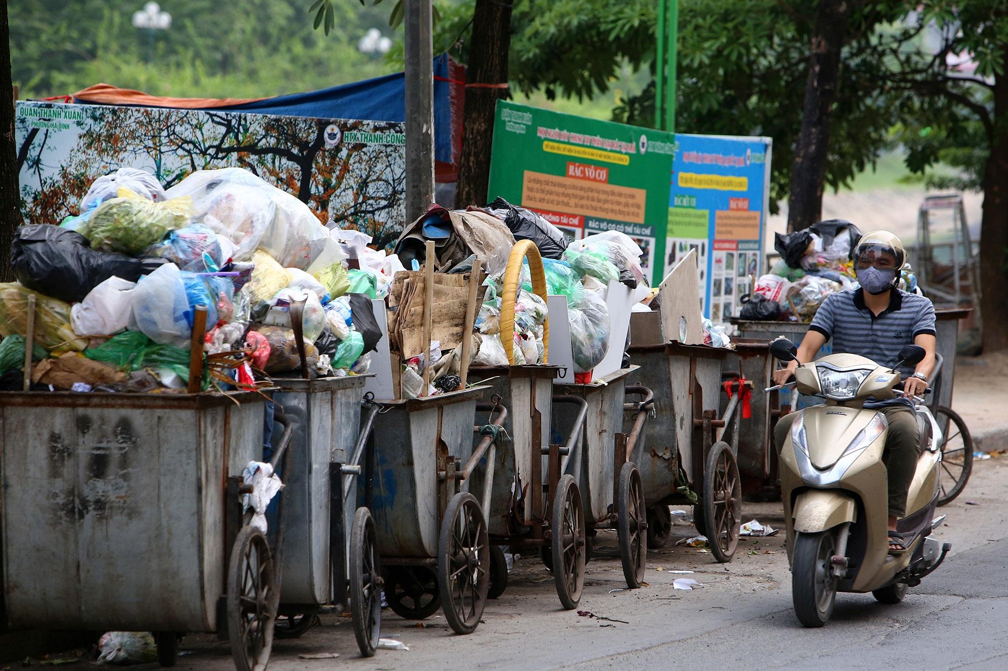 Ảnh Hà Nội trong báo động đỏ về ô nhiễm không khí - 11