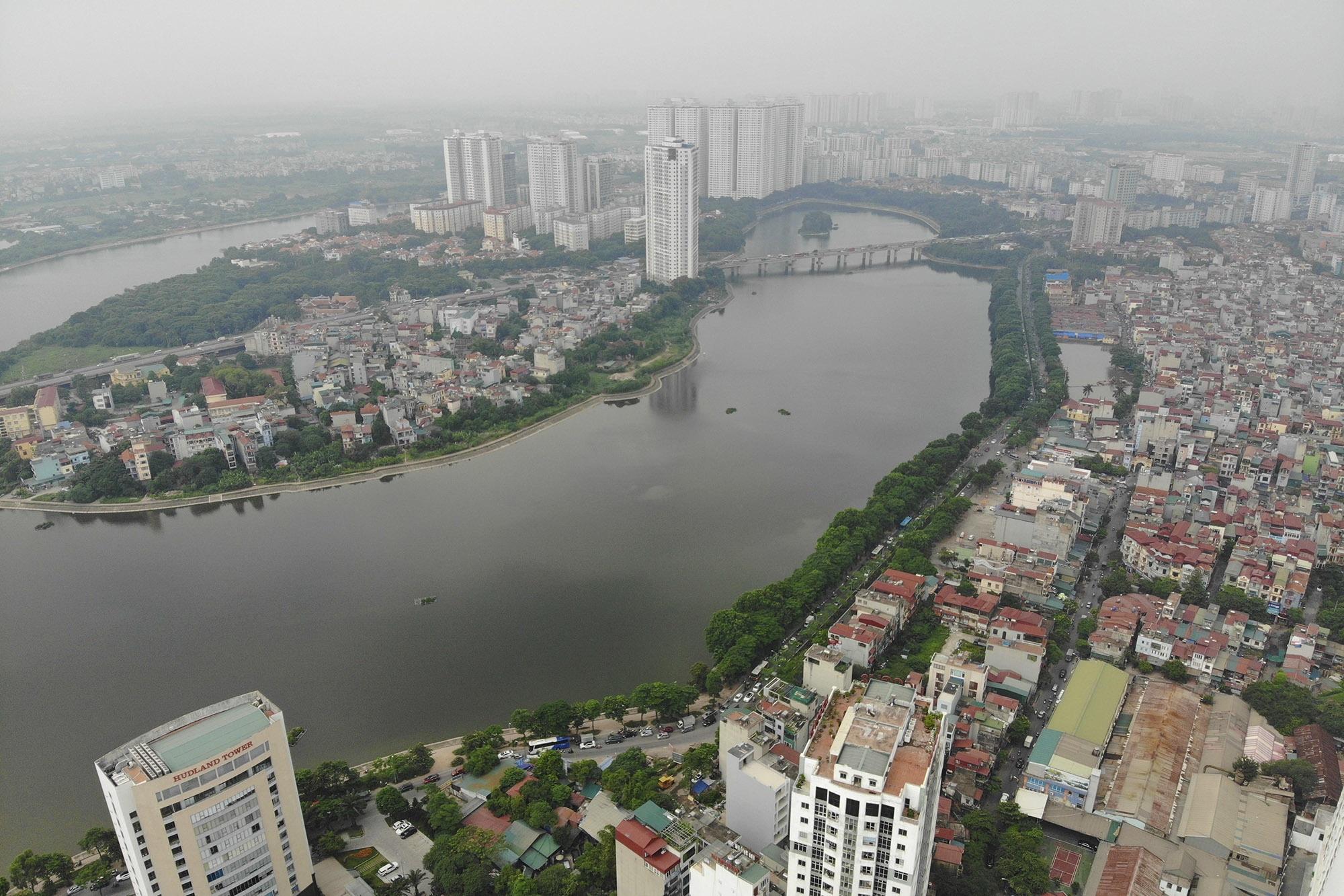Ảnh Hà Nội trong báo động đỏ về ô nhiễm không khí - 7
