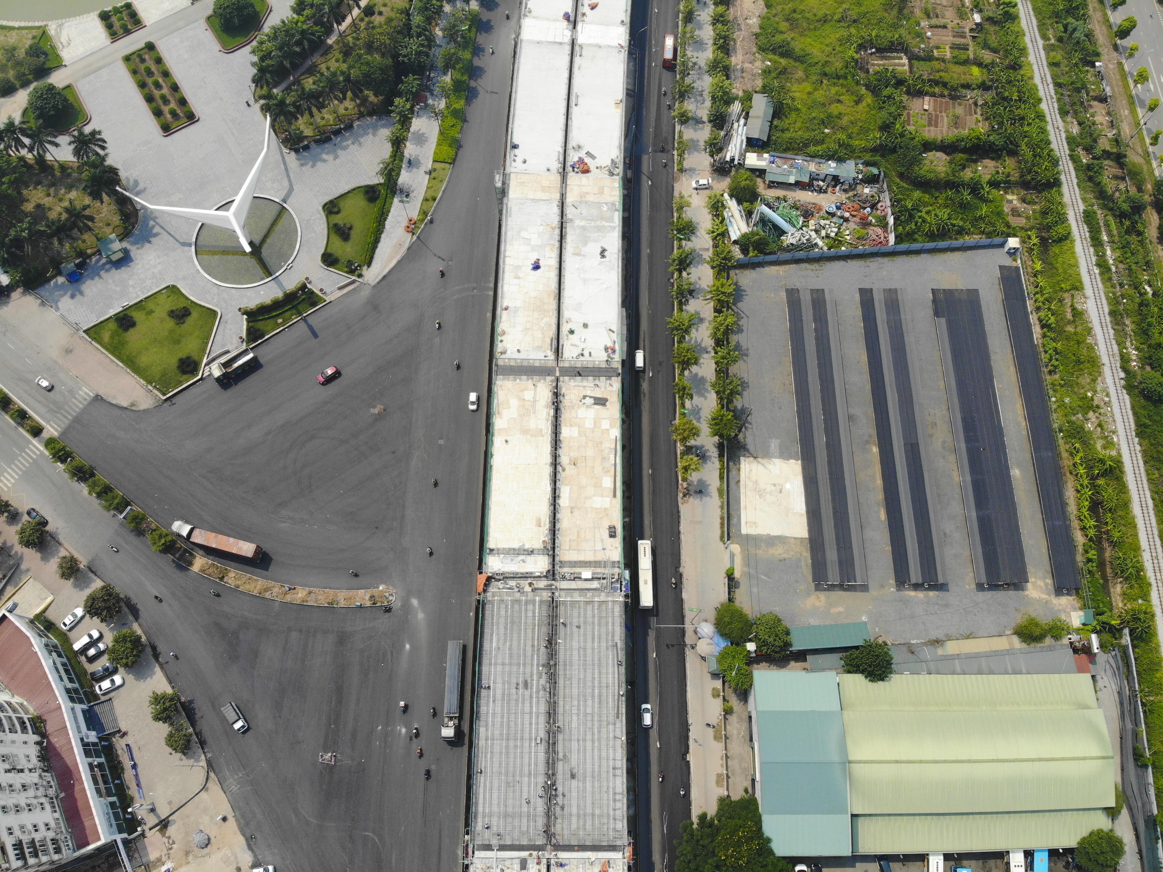 Hà Nội: Đại công trường đường trên cao hơn 5.000 tỉ đồng giờ ra sao? - 10