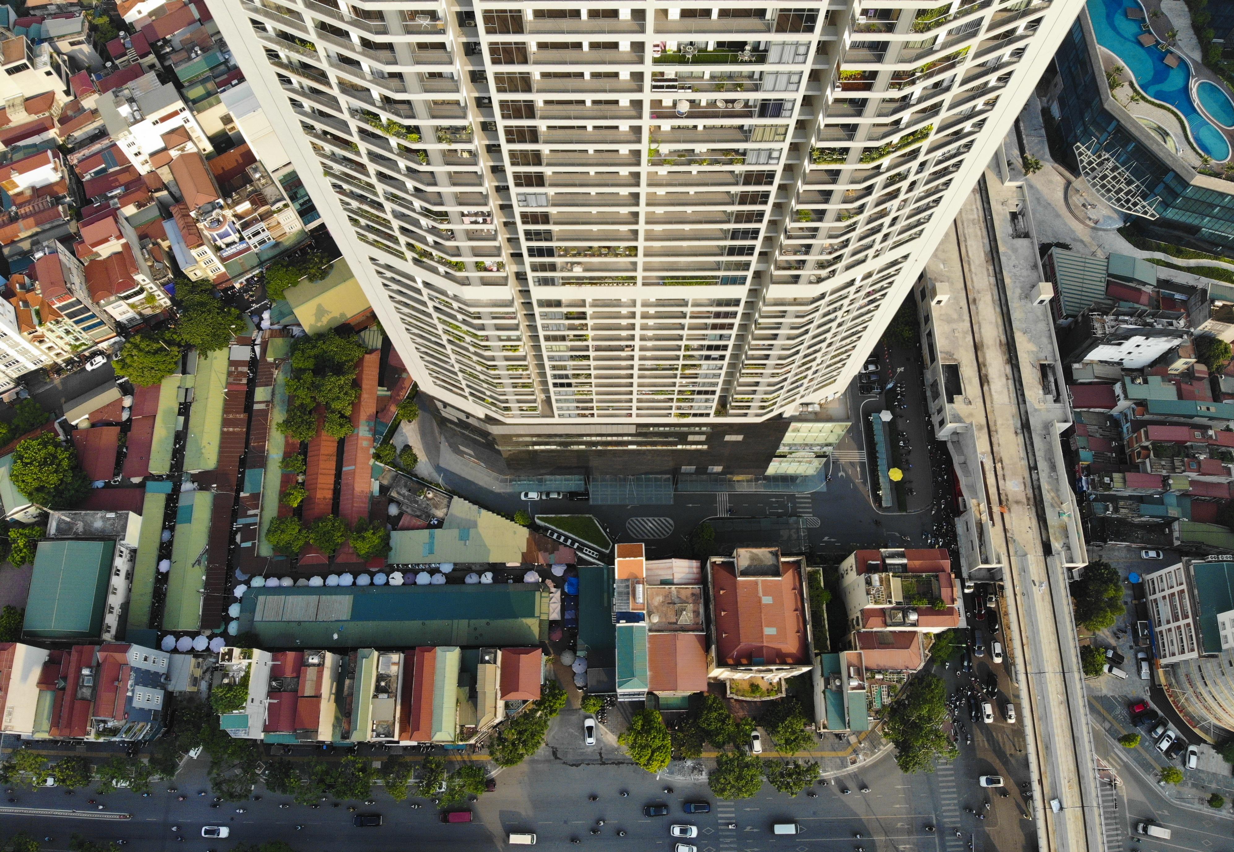 Những hình ảnh của 4 tòa nhà cao nhất Hà Nội nhìn từ trên cao - 14